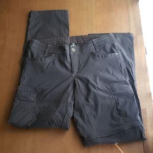 Kuhl womens size 6 convertible cargo pants
